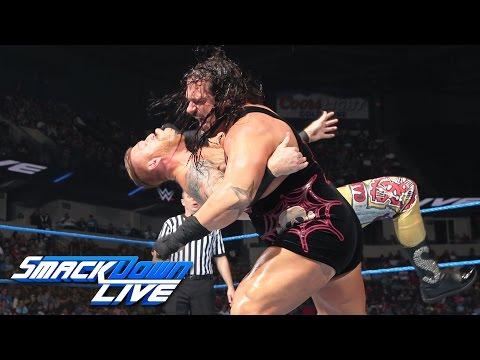 Rhyno vs. Heath Slater - If Heath Slater wins, he receives a contract: SmackDown Live, Aug. 9, 2016