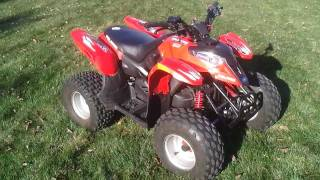 9. 2007 Polaris Predator 90 ATV for sale