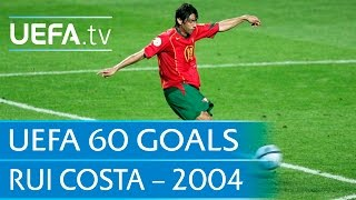 Rui Costas Traumtor gegen England (EM 2004)