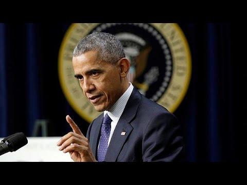 Κυρώσεις κατά της Ρωσίας προανήγγειλε ο Μπαράκ Ομπάμα