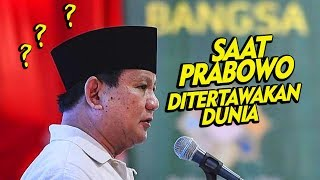 Video Detik - detik  Prabowo Ditertawakan Dunia ! Soal Apa ? MP3, 3GP, MP4, WEBM, AVI, FLV Mei 2019