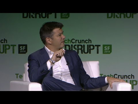 Travis Kalanick On Being Scrappy | Disrupt SF 2014