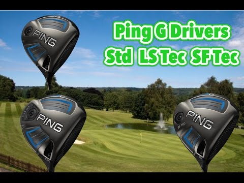 Ping G | G LS Tec | G SF Tec Drivers Review