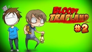 THE FURRY ADVENTURES CONTINUES! :D - Pewds & Cry Plays: Bloody Trapland - Part 2