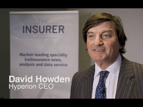 David Howden of Hyperion at the London Insurance Forum 2019