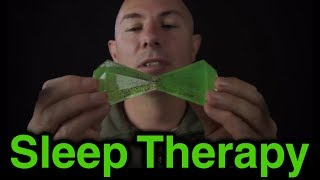 ASMR Trigger Therapy 10 Crinkle, Tapping & Whispering If you would like to help support you can in a number of ways:Patreon a monthly amount suggested $1 http://www.patreon.com/massageasmrDonation through Paypal: https://www.paypal.com/cgi-bin/webscr?cmd=_s-xclick&hosted_button_id=2GLQ475T9F8GUSocial Media LinksMy Tech Channel https://www.youtube.com/user/DmitriTechMechPatreon: http://www.patreon.com/massageasmrWebsite: http://www.massageasmr.comSound Cloud: https://soundcloud.com/massageasmrYoutube: https://www.youtube.com/user/MassageASMRGoogle Page: https://plus.google.com/+MassageASMRFacebook: https://www.facebook.com/massageasmrTwitter: https://twitter.com/MassageASMRI am an Amazon Associate, by clicking on links you will go to Amazon's website, if you purchase anything from amazon you will help support me.Video: Recorded on Panasonic HMC-152EN http://amzn.to/1qzbzhOMicrophones: Recorded in stereo on 2 x Rode NTG-3 Microphone - http://amzn.to/1sOGxlLMic Preamp - Tascam Uh-7000 - http://amzn.to/VdJFJeOld Recorder: Zoom H4N - http://amzn.to/1kbes5EMicrophone Cables - Neutrik Connectors with Mogami Cable - http://amzn.to/1sOIui0Tama Microphone Stands - http://amzn.to/1qzbZEEMemory Cards - Sandisk - http://amzn.to/1p93CJoArt Work Supplied byhttp://stores.ebay.com.au/Vast-prints-posters-artASMR stands for Autonomous Sensory Meridian Response it is described as a pleasurable tingling sensation that can be felt most commonly in the back of the scalp and down the spine but not limited to these area's.  I try to describe ASMR experience to people using something common like visiting a hairdresser, do you find the experience of someone focusing on you, the gentle touching of your hair, the sound of the scissors moving around you relaxing?That would be a relaxing experience, watching ASMR video is like recreating that type of experience.I believe most people can experience ASMR, to experience ASMR you need to find you trigger, common triggers will often be related to one 