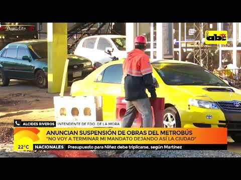 Metrobús: intendente de Fernando de la Mora exige soluciones
