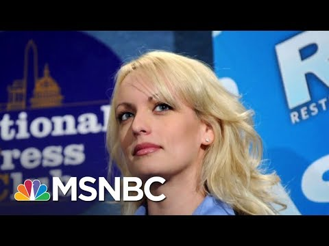 Stormy Daniels' Attorney: Stormy Daniels Was Physically Threatened   MSNBC
