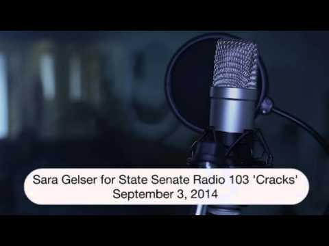 """Cracks""  Sara Gelser for State Senate, 2014 (Radio Ad, Created by Elevated Campaigns)"
