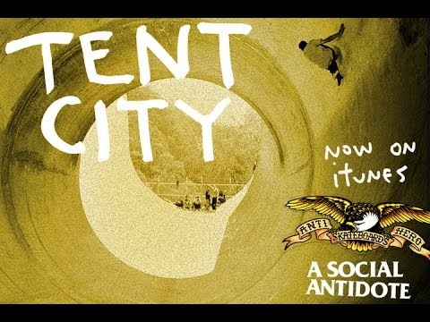 10 years anniversary - One of the best skate-trip vids of all time, Tent City captured an epic journey through Oz with Cardiel, Trujillo, Hewitt, and others. This new version has t...