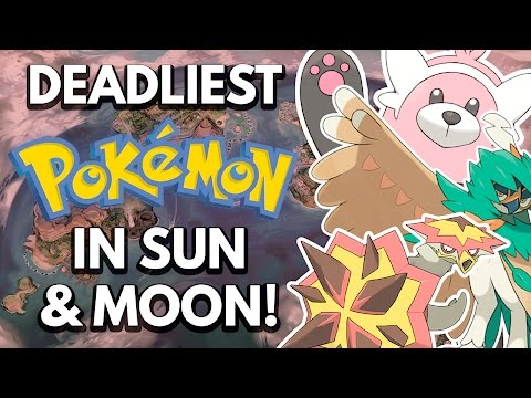 The Science Behind The Deadliest Pokemon In Sun & Moon