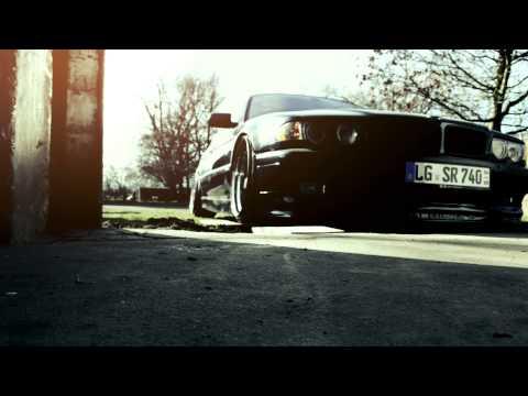CAMBER. Ak Society BMW e38 7series slammed !