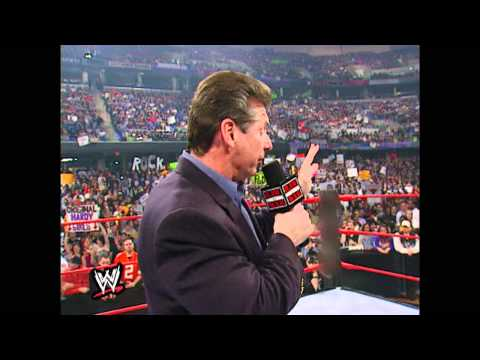 Mr. McMahon reveals the purchase of WCW