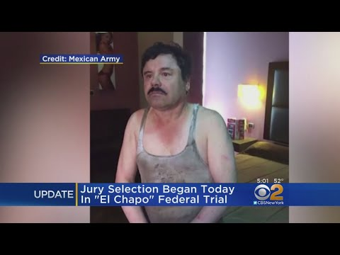 'El Chapo' Brought To Court In New York