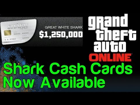 GTA 5 Online Update - Shark Cash Cards Are Now Available (GTA 5 Microtransactions)