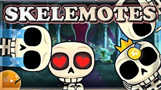 Video NEW Skeleton Emotes! | MAXING OUT Clone Spell | Clash Royale 🍊 MP3, 3GP, MP4, WEBM, AVI, FLV September 2018