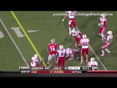 Braxton Miller vs Nebraska 2012 video.