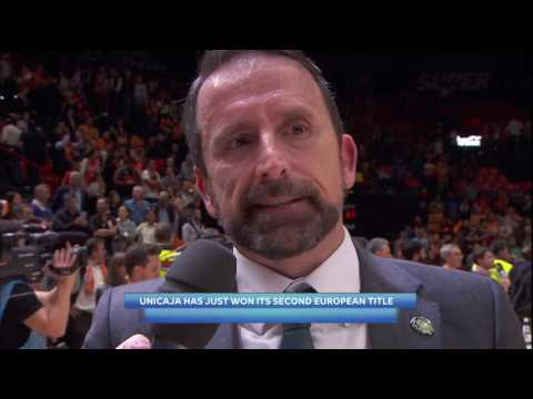 7DAYS EuroCup Finals Interview: Coach Plaza, Unicaja Malaga