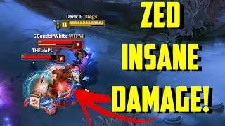 Xem Zed quẩy nát team địch trong tay cao thủ