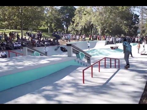 Rob Dyrdek Opens East LA Skatepark, Diamond Supply Co Hazard Park - Surf Channel