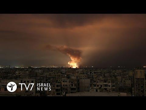 Атака на авиабазу Т-4 в Сирии | ТВ7 Новости Израиля - DomaVideo.Ru
