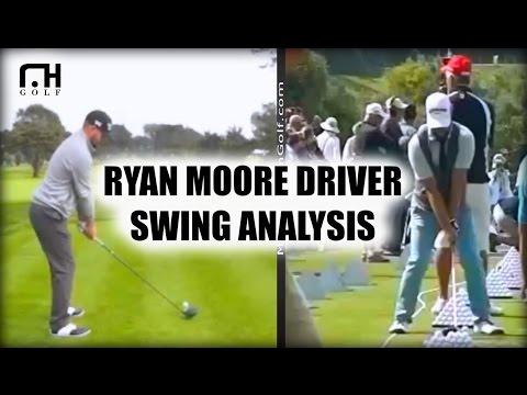 Ryan Moore Driver Swing Analysis