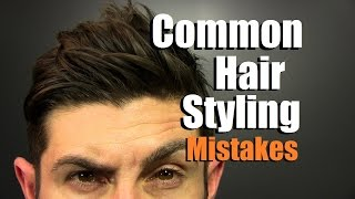 Video 5 MOST Common Hair Styling Mistakes Men Make | How To Have Awesome Hair MP3, 3GP, MP4, WEBM, AVI, FLV Agustus 2018