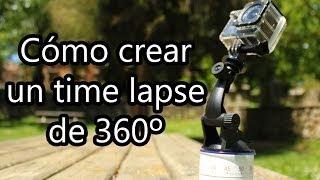 Cómo hacer un time lapse de 360º con una GoPro o SJ4000