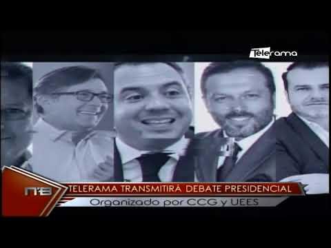Telerama transmitirá debate presidencial organizado por CCG y UESS
