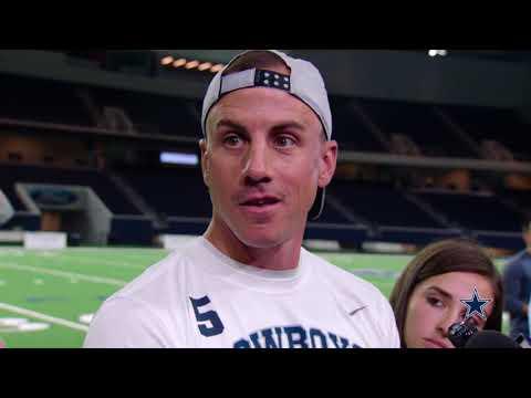 Dan Bailey: Coaching The Winning Team   Dallas Cowboys 2018