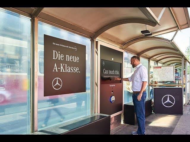 Mercedes Benz Probefahrt auf Knopfdruck