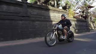 5. Yamaha SR400 Chopper on Sunday Stylish Ride   Bali, Indonesia