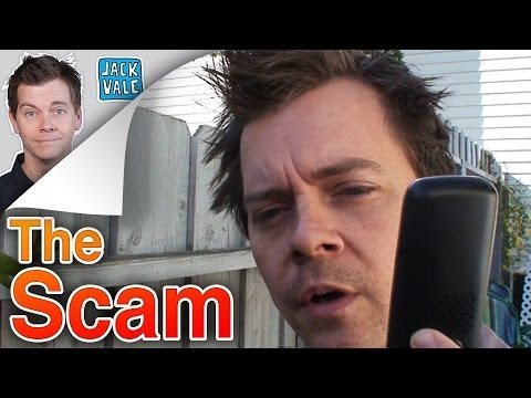 The Scam - A lady called to get Harry to pay on his auto loan. Harry thought it was a scam.