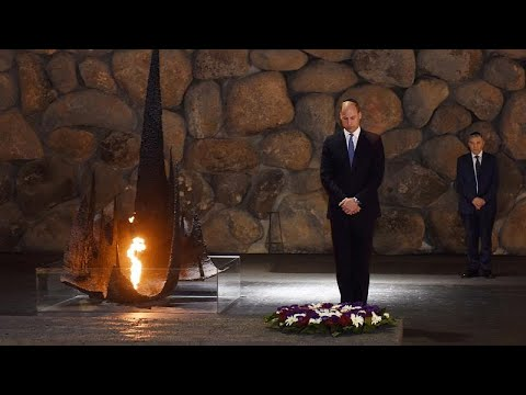Φόρος τιμής του Βρετανού πρίγκιπα Ουίλιαμ στα θύματα του Ολοκαυτώματος…