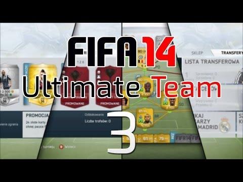 FIFA 14 PL - Ultimate Team #3 | Nowy Skład i Bramka z Rożnego!