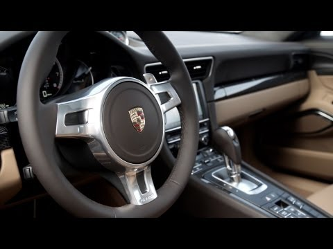 2014 Porsche 911 Turbo S – INTERIOR