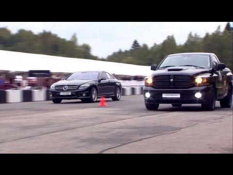 Dodge RAM SRT-10 vs Mercedes CL63 AMG