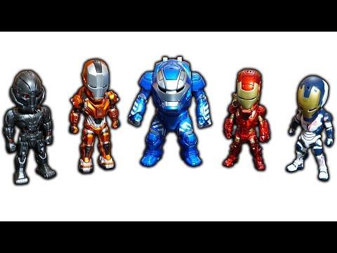 NTN - Trên Tay Bộ 5 Iron Man Trị Giá 3.000.000 VNĐ ( Top 5 IRON MAN ) (видео)