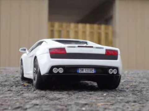 Автомодель (1:24) MAISTO Lamborghini Gallardo LP560-4 (31291 white)