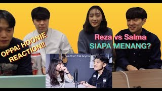 Video [oppa! HOONIE] REAKSI KOREA Siti Badriah-Lagi Syantik(SING-OFF) Reza Darmawangsa VS Salma MP3, 3GP, MP4, WEBM, AVI, FLV April 2019