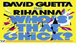 David Guetta videoklipp Who's That Chick (feat. Rihanna) (Afrojack Remix)