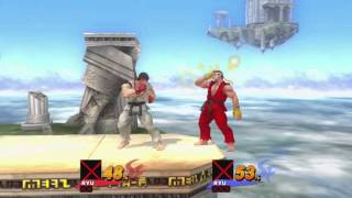 Super Smash Bros 4 Turbo – Ryu