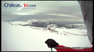 Kilómetro Lanzado ski trail video, El Colorado Chile