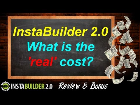 """, title : 'InstaBuilder 2.0 Review & Bonus - What's the """"Real"""" Cost / Price - InstaBuilder 2.0 Review'"""