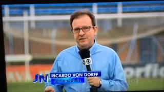 Reportagem exibida no Jornal Nacional destacando os 4 clubes de Santa Catarina que disputarão a Série A 2015.