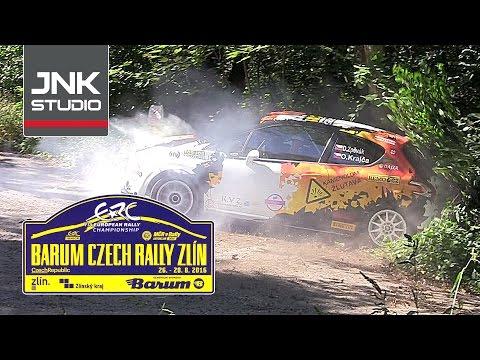 Barum Czech Rally Zlín 2016 Official test
