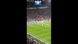 Vidal penalty kick against AS Monaco
