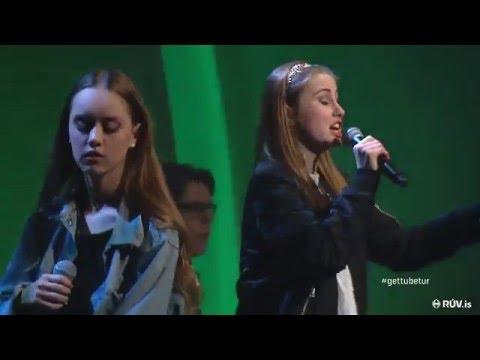 Strákarnir - Elín Halla og Una Schram