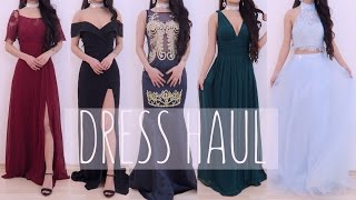 👸🏻 Prom Dress/Gown Try-on Haul 2017 Ll Ever-pretty Ll Dressesofgirl Ll Xdressy