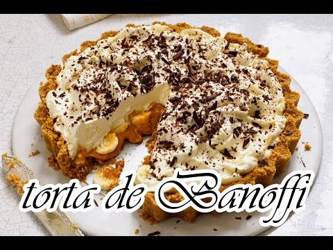 Receita Rápida - Torta de Banoffi SUPER FÁCIL - Blog Beleza Rosa